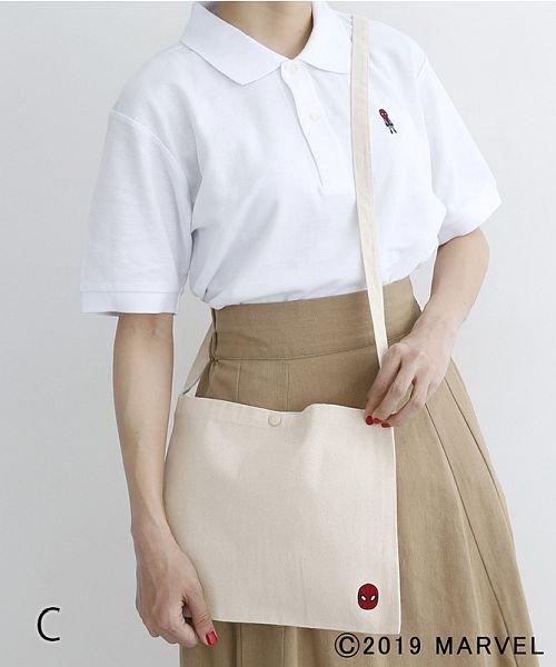 merlot(メルロー)/【MARVEL/マーベル】コットンサコッシュ/00010012-819200395003