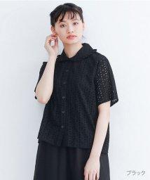 merlot/【TVドラマ着用】カットワークレースブラウス/502455787