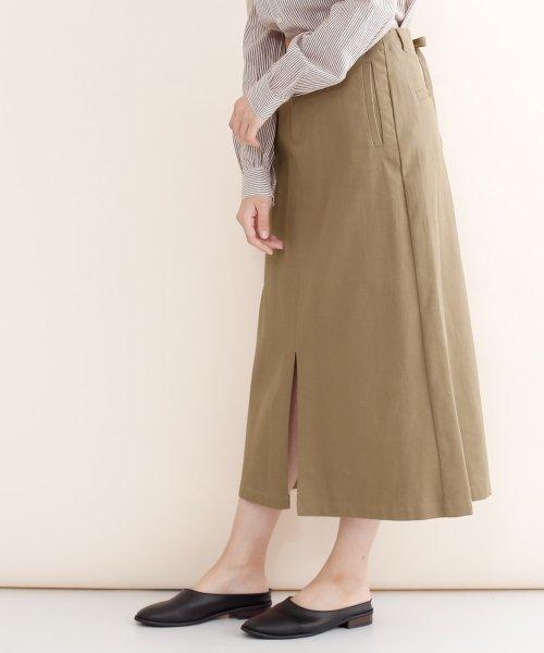 merlot(メルロー)/【IKYU】バックリボンIラインスカート/00010012-939130062865