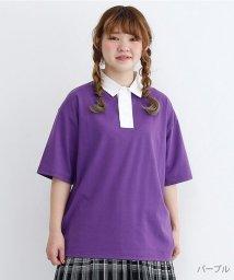 merlot/カラーラガーTシャツ/502455906