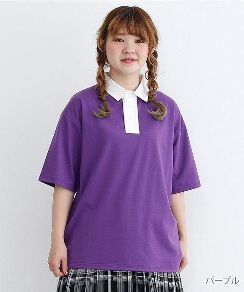 merlot(メルロー)/カラーラガーTシャツ/00010012-939230032927
