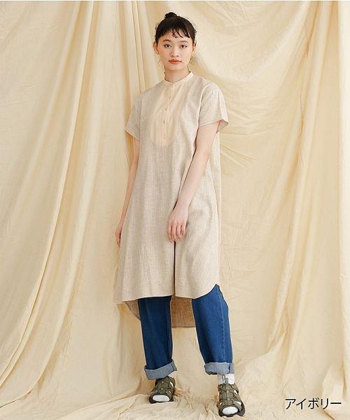 merlot(メルロー)/【IKYU】フロントヨーク切替ワンピース/00010012-939230143014
