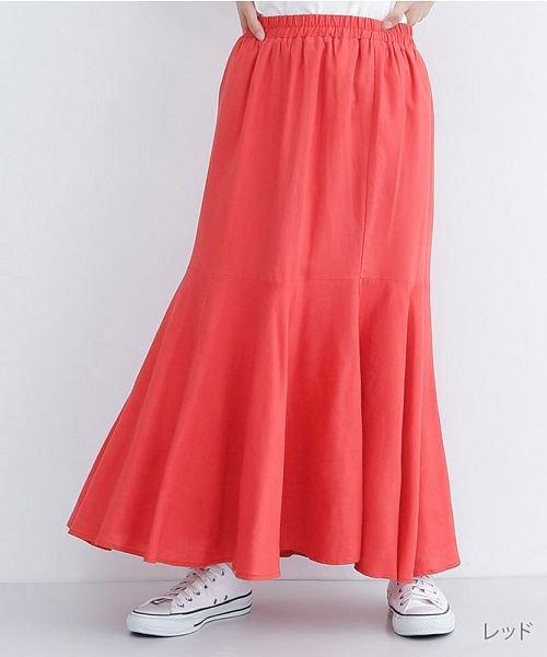 merlot(メルロー)/レーヨンリネンマーメイドスカート/00010012-939230152911