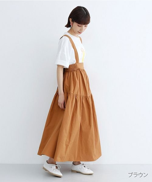 merlot(メルロー)/3wayコットンギャザースカート/00010012-939230153008