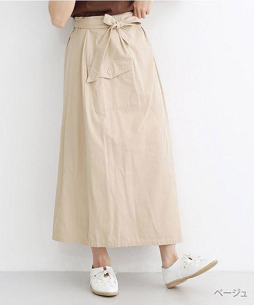 merlot(メルロー)/ビッグポケットサロンスカート/00010012-939230202915
