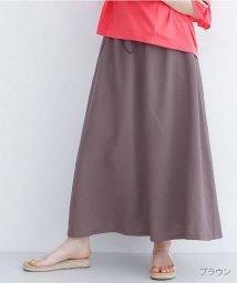 merlot/ドローコードギャザースカート/502455984