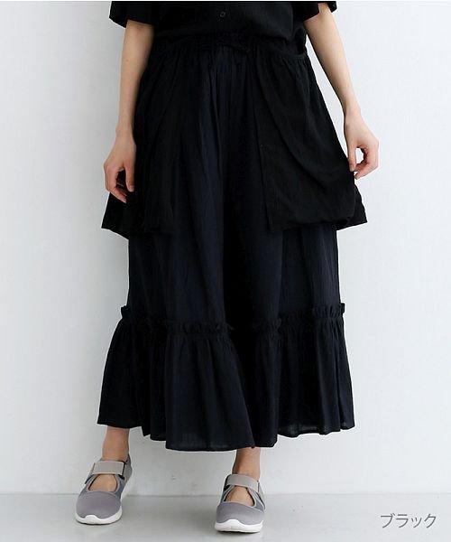 merlot(メルロー)/【IKYU】ギャザーフリルパンツ/00010012-939270063166