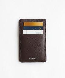 BEAMS MEN/BEAMS / サフィアーノレザー カード ホルダー/502456714