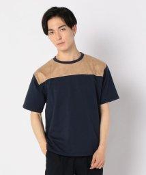GLOSTER/スエードミニ裏毛Tシャツ/502446453