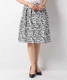 MISS J/CLARENSON ファンシーツィード スカート/502447925