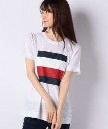 TOMMY HILFIGER WOMEN/カラーブロックTシャツ/502451611