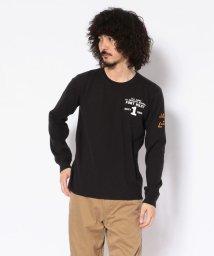AVIREX/ハニカムワッフル ロングスリーブTシャツ/ HONEYCOMB WAFFLE L/S T-SHIRT/502456755