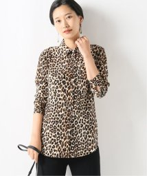 journal standard  L'essage /【EQUIPMENT/エキプモン】Leopard SLIM SIGNATURE SH:シャツ/502457145