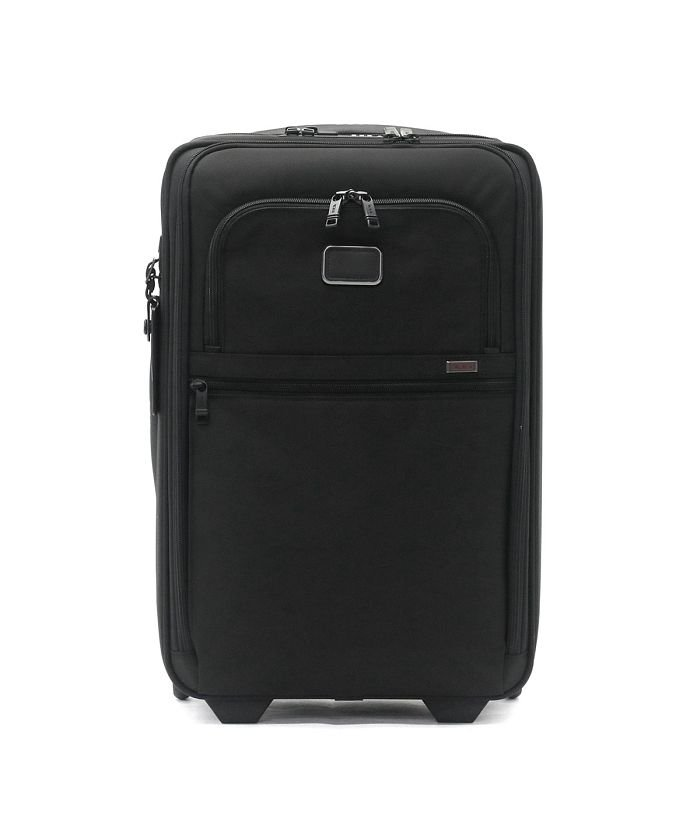 ギャレリア トゥミ スーツケース TUMI Alpha3 インターナショナル・エクスパンダブル・2ウィール・キャリーオン 機内持ち込み 35L 2203020 ユニセックス ブラック F 【GALLERIA】
