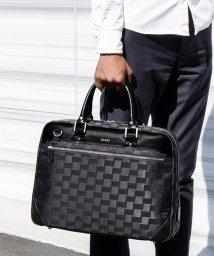 ZARIO/ビジネスバッグ メンズ ブリーフケース 牛革 レザー デザインナイロン 通勤鞄 A4 B4 2way ショルダー付き ZARIO/502457859