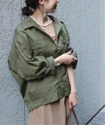NOBLE/オーバーサイズミリタリーシャツジャケット◆/502457875