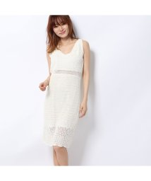 GUESS/ゲス GUESS SHAINA CROCHET DRESS (WHISPER WHITE)/502458144