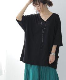 osharewalker/n'OrゆるっとシンプルVネックTシャツ/502458609