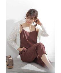 PROPORTION BODY DRESSING/シャーリングロンパース/502399264