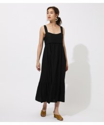 AZUL by moussy/BACK RIBBON TIERED ONEPIECE/502459704