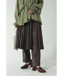 ROSE BUD/プリーツスカート&パンツレイヤード/502459846