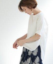 ROPE' PICNIC/【WEB限定】サイドスリットTシャツ/502459984