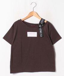 Lovetoxic/ワンショルダーBOXロゴTシャツ/502450231