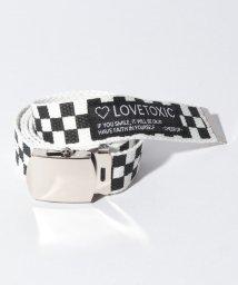 Lovetoxic/チェッカーフラッグガチャベルト/502450236