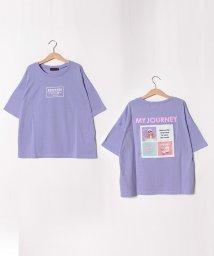 Lovetoxic/バックフォトTシャツ/502455053
