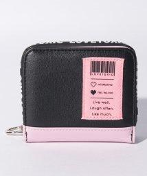 Lovetoxic/バーコードパッチ折りたたみ財布/502455054