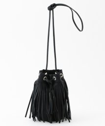 ADAM ET ROPE'/【HOBO】別注 Fringe Drawstring Bag S/502460525