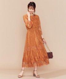KUMIKYOKU/【新色追加!】総レースロング ドレス/502363417