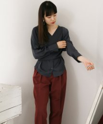 URBAN RESEARCH OUTLET/【KBF+】後ろリボンカシュクールブラウス/502444852
