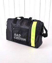 RAD CUSTOM/ツイルリフレクター付きボストンバッグ/502449540