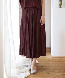 Bou Jeloud/【セットアップ対応商品】気流染めマットサテンスカート/502454730