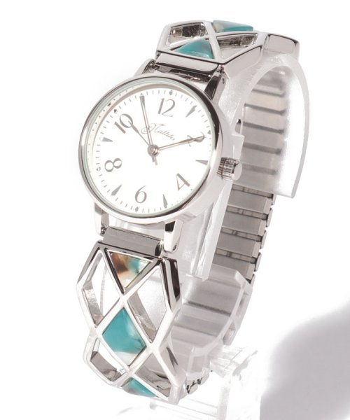 SELECT(SELECT)/〈nattito/ナティート〉Acetate Expansion Belt Watch ダイヤン/41263056