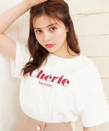 INGNI/シンプルロゴTシャツ                              /502458580