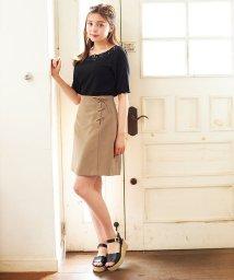 INGNI/レースUP台形スカート                    /502458583