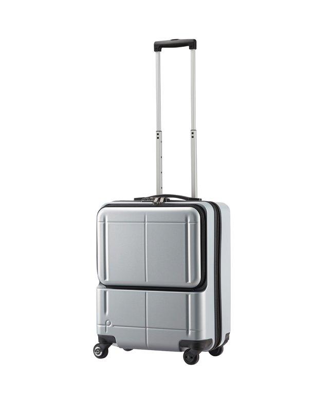 カバンのセレクション エース プロテカ マックスパス H2s スーツケース 機内持ち込み フロントオープン Sサイズ 40L 軽量 ACE 02761 ユニセックス シルバー 在庫 【Bag & Luggage SELECTION】