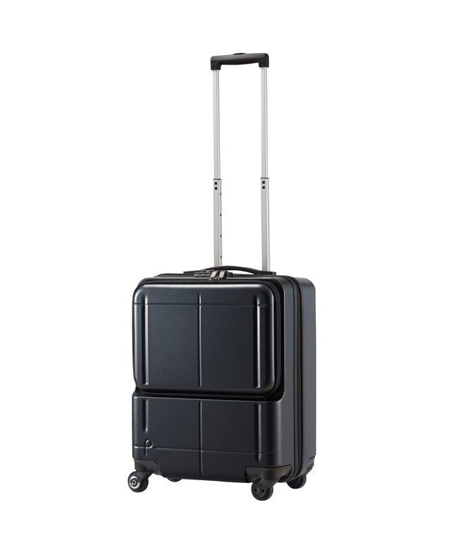 カバンのセレクション エース プロテカ マックスパス H2s スーツケース 機内持ち込み フロントオープン Sサイズ 40L 軽量 ACE 02761 ユニセックス ガンメタリック 在庫 【Bag & Luggage SELECTION】