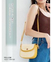 GROWINGRICH/[バッグ 鞄 雑貨 小物]パイピングがコーデのポイントに ふた付きナチュラルショルダーバッグ[190622]/502462063