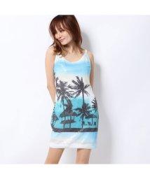 GUESS/ゲス GUESS SUMMER PARTY DRESS (SUMMER DAYS PRINT)/502462446