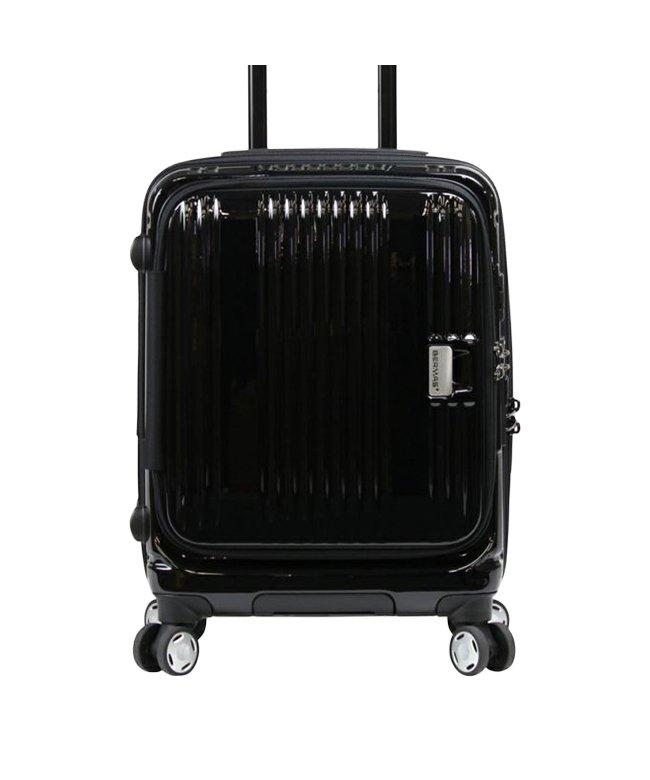 カバンのセレクション バーマス ユーロシティ スーツケース 機内持ち込み Sサイズ/38L フロントオープン USBポート BERMAS 60290 ユニセックス ブラック 在庫 【Bag & Luggage SELECTION】