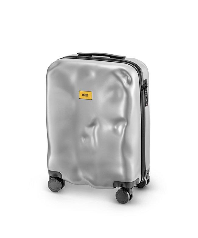 カバンのセレクション クラッシュバゲージ スーツケース 機内持ち込み Sサイズ 40L かわいい 軽量 CRASH BAGGAGE cb161 ユニセックス シルバー フリー 【Bag & Luggage SELECTION】