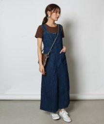 SCOTCLUB/Vin(ウ゛ァン) フロントジップデニムジャンパースカート/502457278