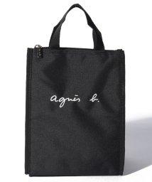 agnes b. ENFANT/GL11 E LUNCH BAG ロゴ刺繍 保冷ランチバッグ/502458663