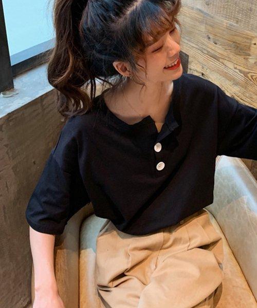felt maglietta(フェルトマリエッタ)/パンツもスカートにも相性抜群!!ゆる Tシャツ トップス 夏 大きいサイズ/am226