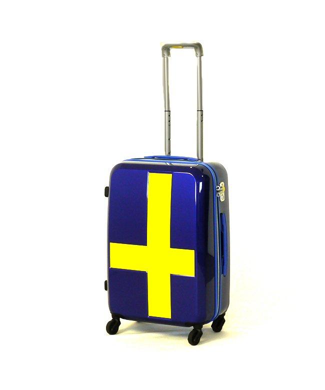 カバンのセレクション イノベーター スーツケース Lサイズ 軽量 大型 大容量 INNOVATOR 70L INV63 ユニセックス ブルー 在庫 【Bag & Luggage SELECTION】