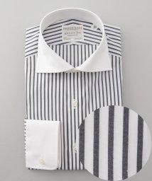 gotairiku/【形態安定】PREMIUMPLEATS ドレスシャツ / ロンドンストライプ/502466041