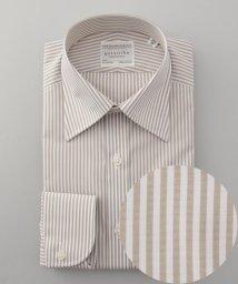 gotairiku/【形態安定】PREMIUMPLEATS ドレスシャツ / ロンドンストライプ/502466042